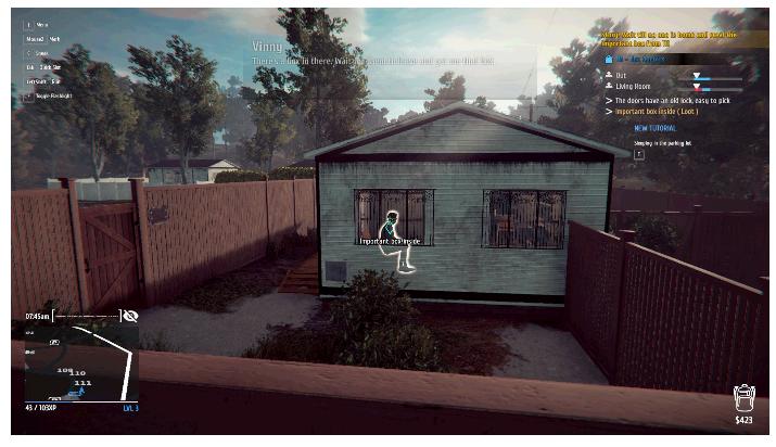 【攻略】プロの泥棒を目指していく『Thief Simulator』偵察から逃走までリアルを追求した本格泥棒シミュレーター