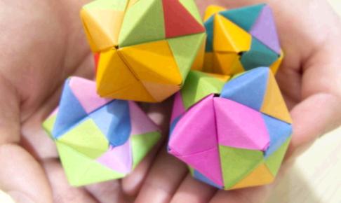 一人の時間がなくてイライラ→折り紙を折る