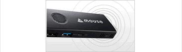 こんなに小さいのにWiFiモジュールが付いているのでインターネットに接続できます。m-Stickシリーズ